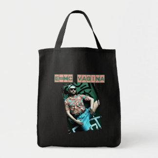 e=mcvagina bolsa tela para la compra