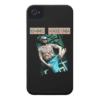 e=mcvagina Case-Mate iPhone 4 cárcasa