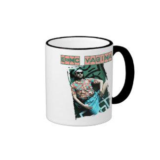 e=mcvagina ringer coffee mug