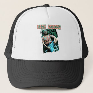 e=mcvagina trucker hat