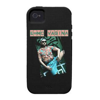 e=mcvagina vibe iPhone 4 carcasas