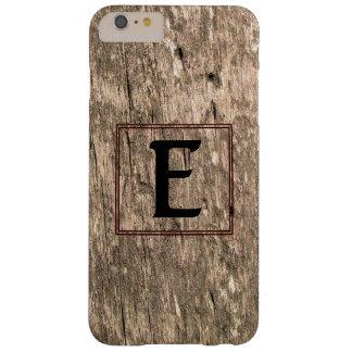 E-Monogram Barnwood iPhone 6 Plus Case