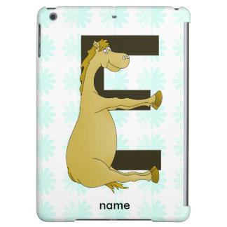 E Monogram Pony iPad Air Cases