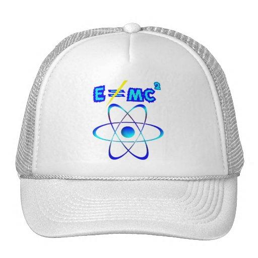 ¡E no hace = mc2 - Einstein era incorrecto! Gorro De Camionero