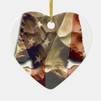 E-Notch Thebes arrowhead Design Ceramic Ornament