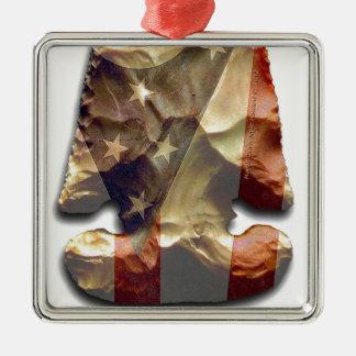 E-Notch Thebes arrowhead Design Metal Ornament