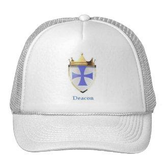 E.O.C DEACON WHITE CAP TRUCKER HAT