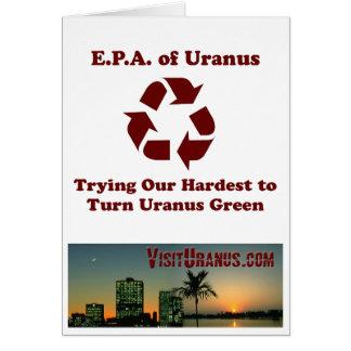 E.P.A. of Uranus Card