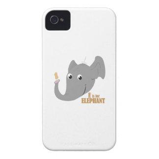 E para el elefante Case-Mate iPhone 4 cárcasas