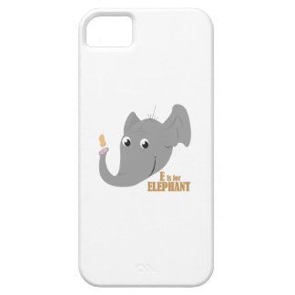 E para el elefante iPhone 5 protector