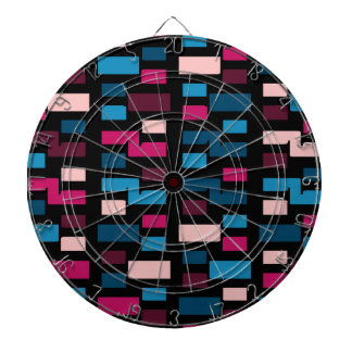 E Pattern Two Dartboard With Darts