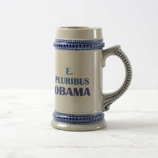 E. Pluribus Obama Jarra De Cerveza