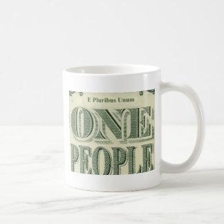 E PLURIBUS UNUM is our motto! Classic White Coffee Mug