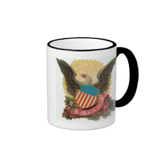 E Pluribus Unum Ringer Coffee Mug