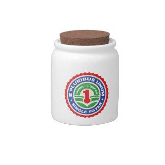 E Pluribus Unum Payer Candy Jar