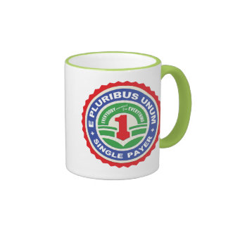 E Pluribus Unum Payer Ringer Coffee Mug