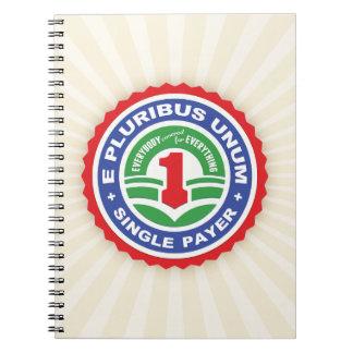 E Pluribus Unum Payer Spiral Note Book