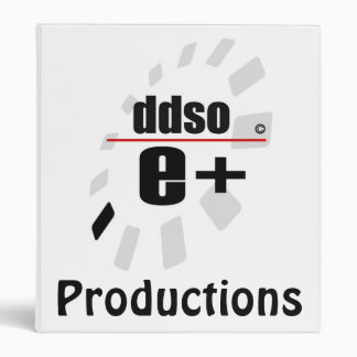 E+ Productions Binder