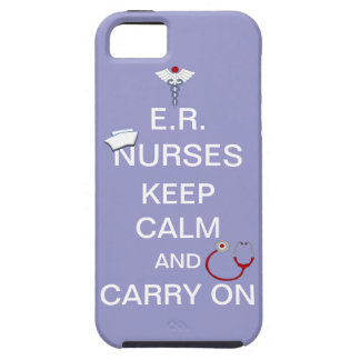 E.R. Las enfermeras guardan calma+Estetoscopio y iPhone 5 Carcasas