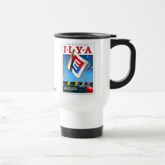 E Race 2008 travel mug