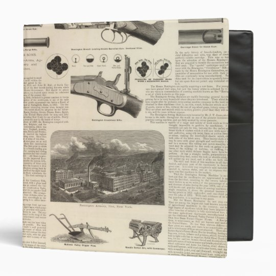 E Remington and Sons Binder