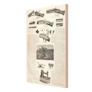 E Remington and Sons Canvas Print