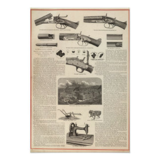 E Remington and Sons Poster