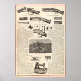 E Remington and Sons Print