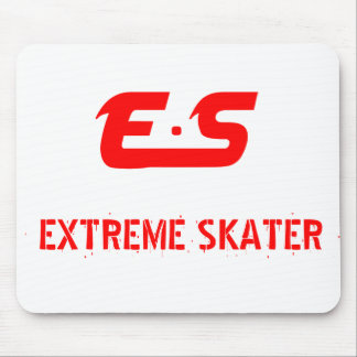 E.S Extreme Skater Mousemat Mouse Pad