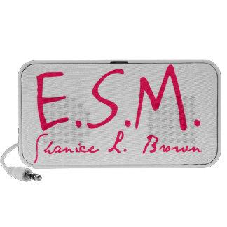 E.S.M. Signature Doodle Speakers