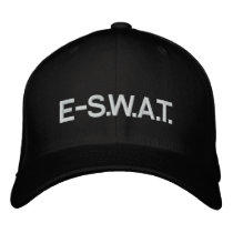 E-S.W.A.T. EMBROIDERED BASEBALL CAP