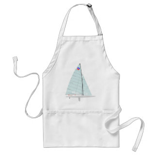 E-scow   Racing Sailboat onedesign  Class Adult Apron