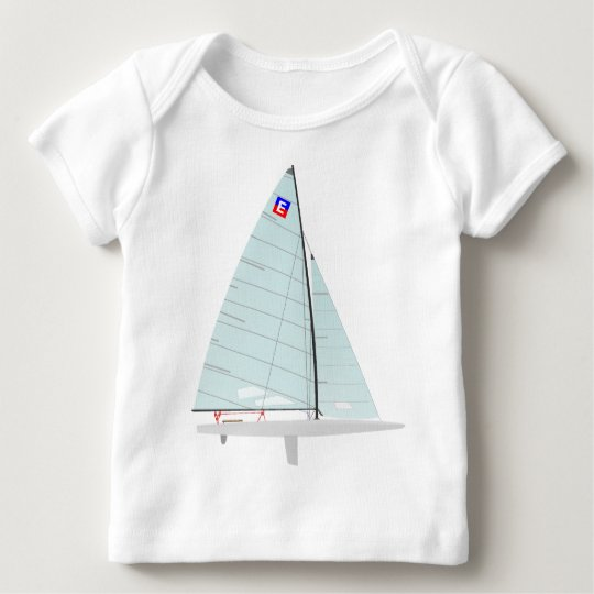 E-scow   Racing Sailboat onedesign  Class Baby T-Shirt