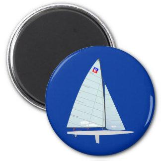 E-scow Racing Sailboat onedesign Class Refrigerator Magnet