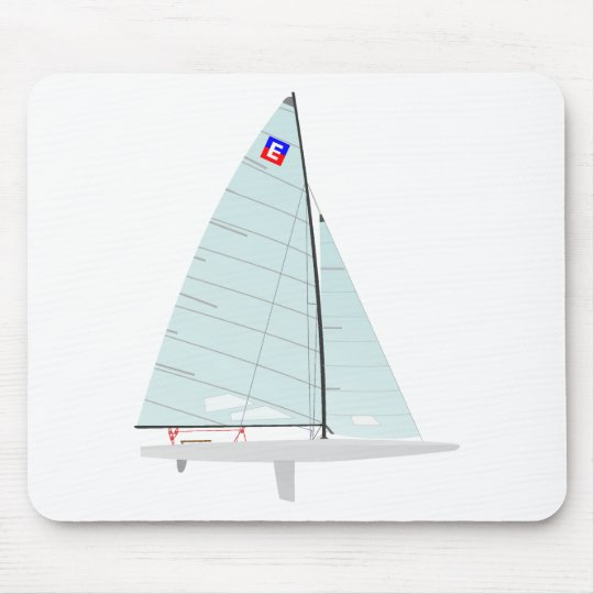 E-scow   Racing Sailboat onedesign  Class Mouse Pad