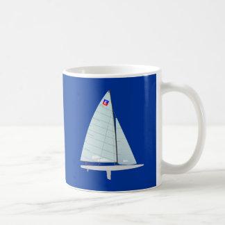 E-scow Racing Sailboat onedesign Class Coffee Mug