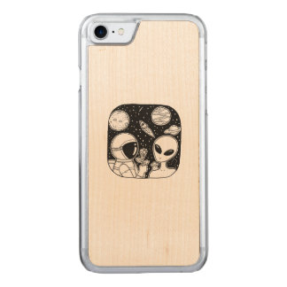 E.T CARVED iPhone 7 CASE