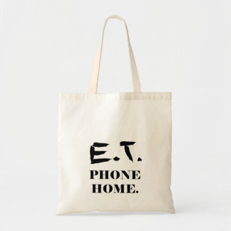 E.T. phone home Tote Bag