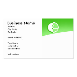 E Template Business Card