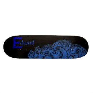 E - The Falck Alphabet (Blue) Skateboards