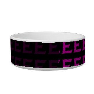 E - The Falck Alphabet (Pink) Bowl