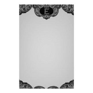 E - The Falck Alphabet (Silvery) Stationery