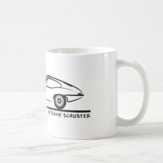 E-Tipo cupé de Jaguar Tazas De Café