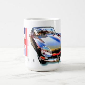 E-tipo xke de Jaguar Taza Clásica