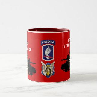 E Troop, 17th Cavalry M551 Sheridan Mug