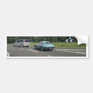 E-Type Jag Coupe Bumper Sticker