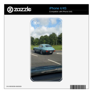 E-Type Jag Coupe Decals For The iPhone 4S
