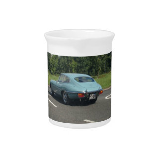 E-Type Jag Coupe Drink Pitchers