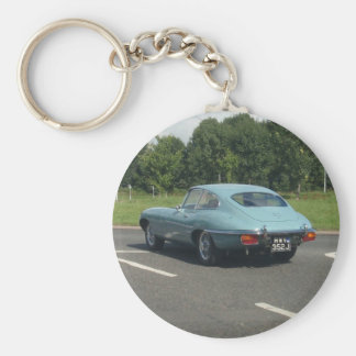 E-Type Jag Coupe Keychain