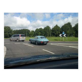 E-Type Jag Coupe Postcard